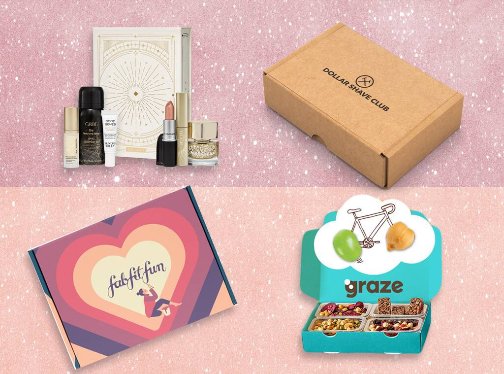 E-Comm: 12 Subscription Boxes That Make Amazing Gifts