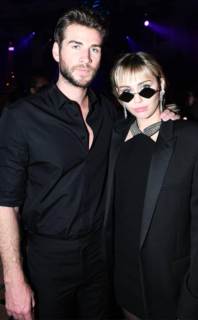 Liam Hemsworth, Miley Cyrus, 2019 MET Gala, After Party