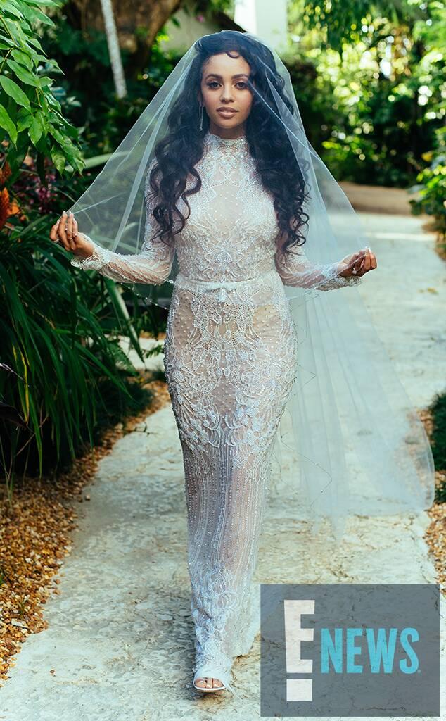 Vanessa Morgan, Michael Kopech, wedding, exclusive