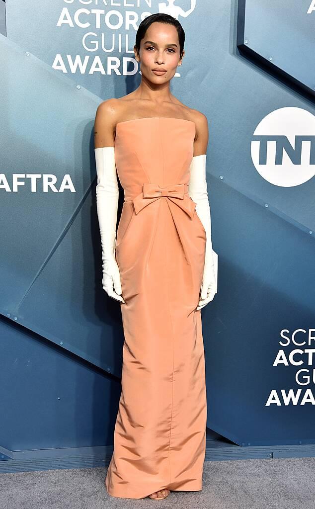 Zoe Kravitz, 2020 Screen Actors Guild Awards, SAG Awards, Red Carpet Fashions