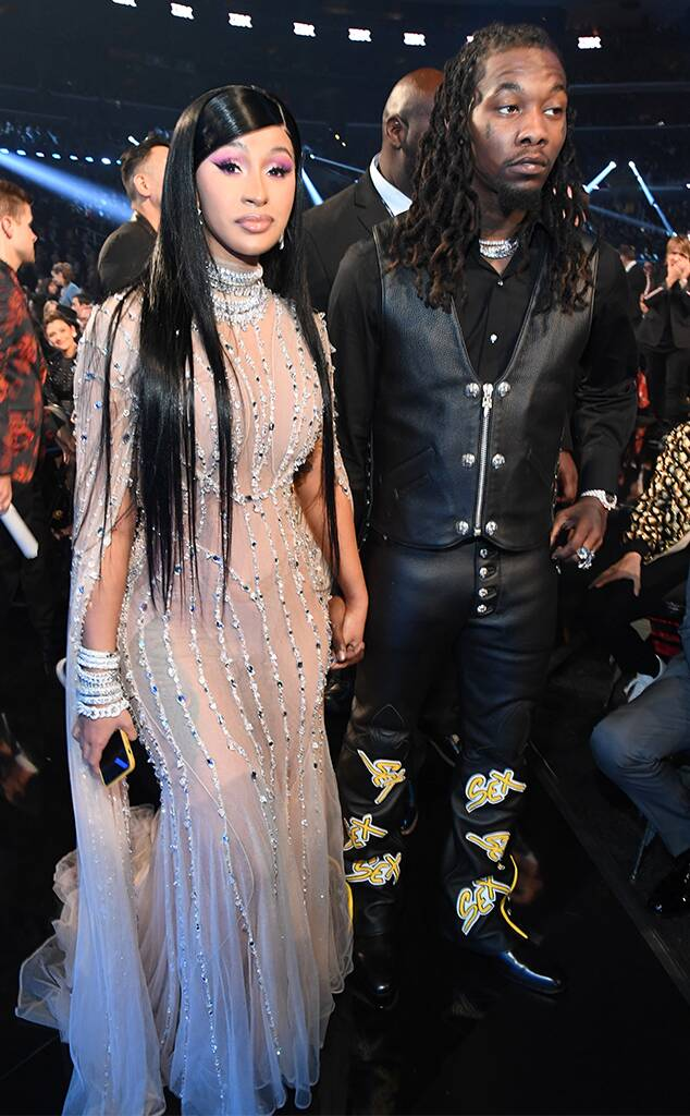 Cardi B, Offset, 2020 Grammys, Grammy Awards, Show