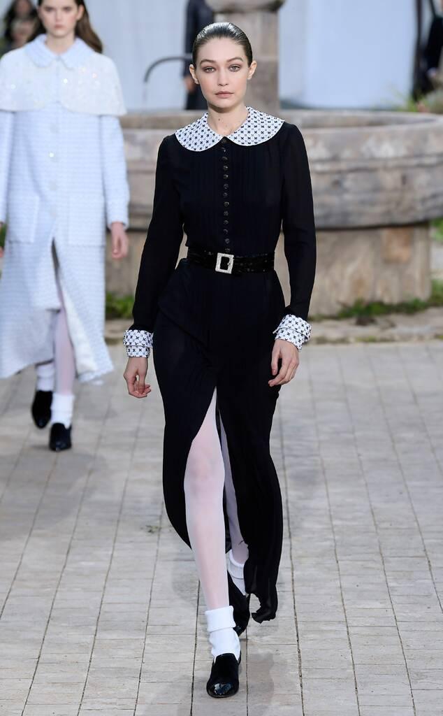 Gigi Hadid, Chanel SS2020 Show, Paris Fashion Week