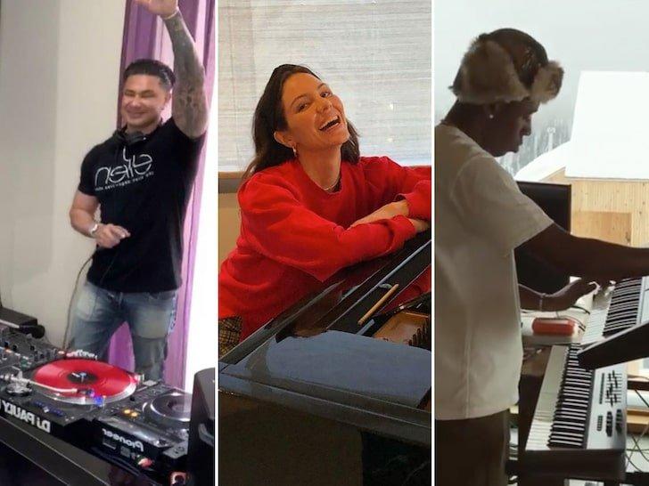 Musicians Making Music In Quarantine