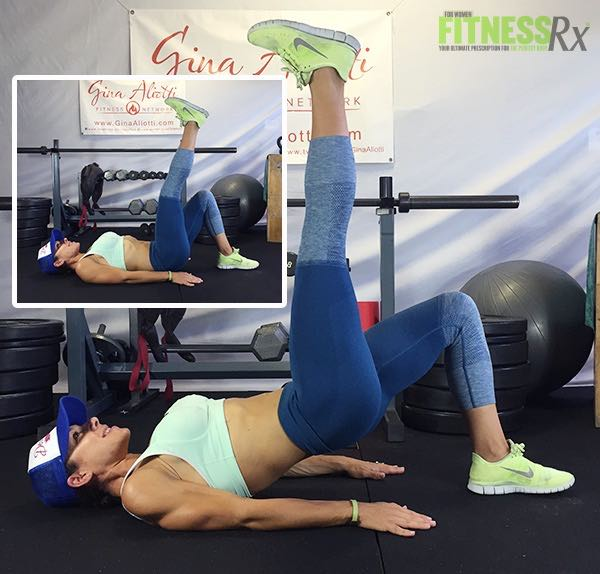 Hip Thrusts with Leg Extension