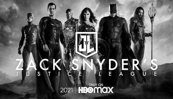 Justice League The Snyder Cut Hbo Max Black And White