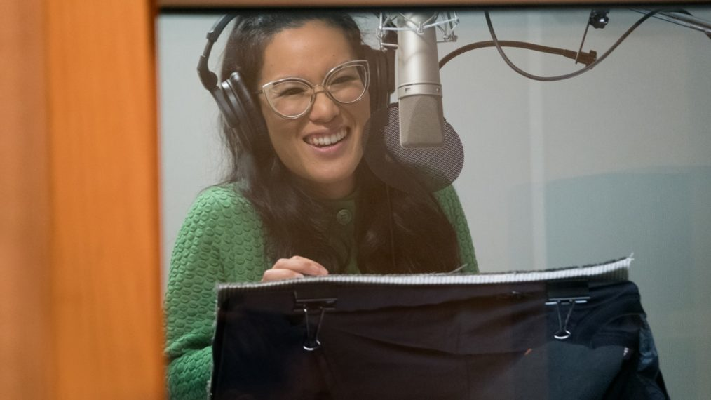 Ali Wong Records Her Lines For The Series