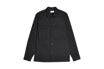 Image may contain Clothing Apparel Sleeve Long Sleeve Coat Shirt Overcoat and Jacket