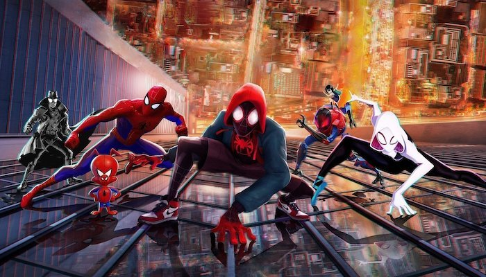 Spider-men Spider-Man: Into the Spider-Verse