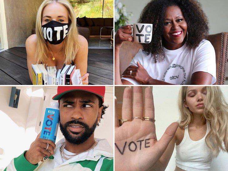 Stars Promote The Vote!