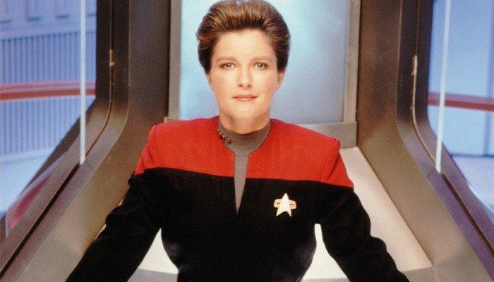 Kate Mulgrew Star Trek Voyager