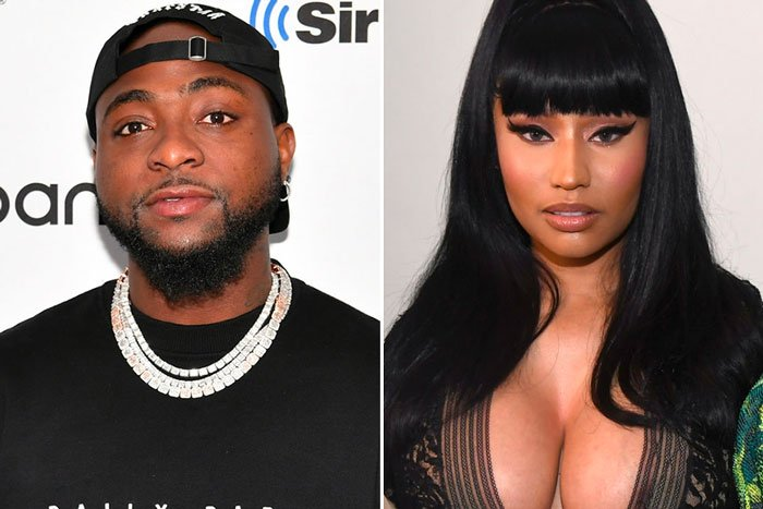 Davido and Nicki Minaj