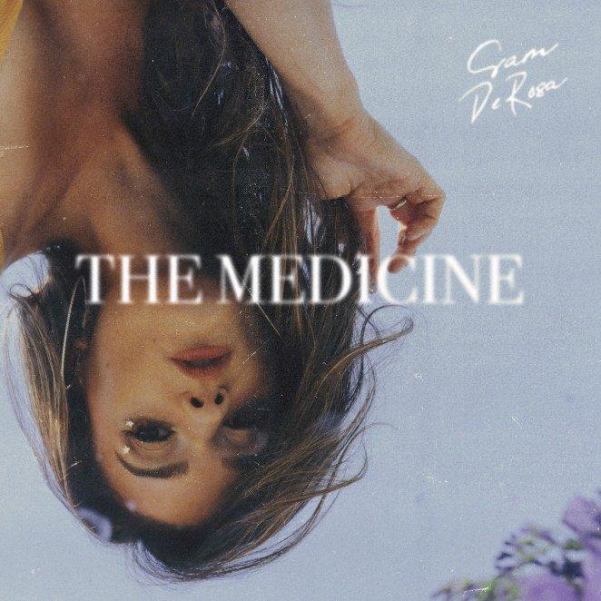 "Sam DeRosa - ""The Medicine"" EP artwork"