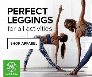 Gaiam perfect leggings for all activities