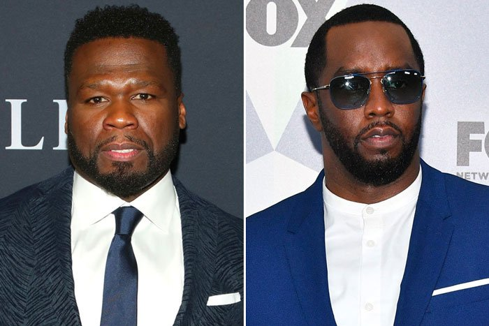 50 Cent and Diddy